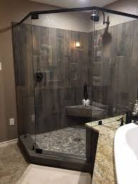 shower ideas rock tile shower best 25 river rock shower ideas on