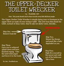 bathroom prank ideas bathroom pranks dump a day