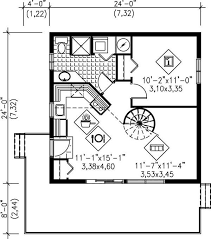 plan no 580709 house plans by westhomeplanners house floor plan no spiral just ladder to loft 24x24 c