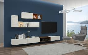 tv unit modern italian u0026 german tv wall unit designs blau