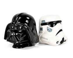 star wars bookends darth vader and storm trooper