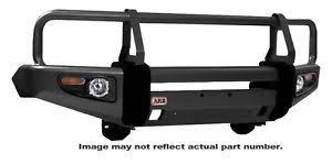 lexus lx450 arb deluxe custom black bull bar with winch mount for land cruiser