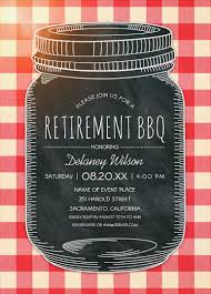 retirement party invitations retirement bbq invitations vintage