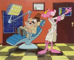 the pink panther show pink panther cel animation from movies and cartoons