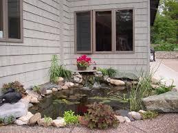 garden u0026 landscape lovely backyard pond ideas on minimalist