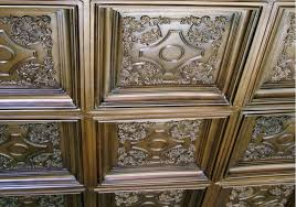 What Is A Coffered Ceiling by British Sterling Faux Tin Ceiling Tile Coffered Drop In 24