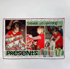 ideas for scrapbooking christmas day