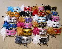 venetian masks bulk wholesale 30pcs lot mask blue flower feather venetian