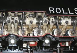 rolls royce merlin engine ramp head merlin