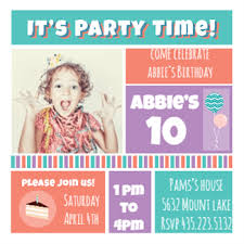 40 free birthday party invitation templates send bottle message