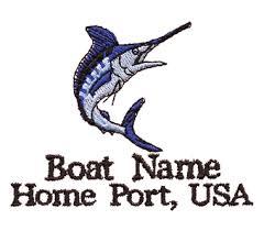fishing boating design eb1325 jumping blue marlin