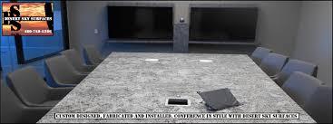 Quartz Conference Table Granite Quartz Countertops Fabricator Chandler Mesa Gilbert