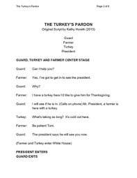 thanksgiving skit for grades 3 6 by skits and drama tips tpt