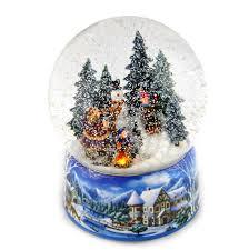 light up snow globe let it snow light up musical christmas snowstorm globe pink cat shop