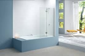 merlyn two panel hinged bath screen left hand mb7l