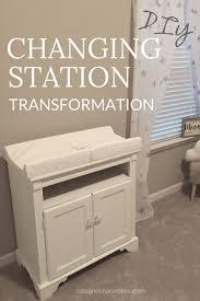 diy baby changing table diy baby changing station transformation diy changing table diy