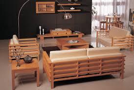 Wood Living Room Home Design Ideas - Wooden furniture for living room designs
