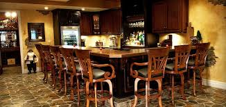 custom bar cabinets and wine racks in chicago