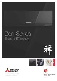 mitsubishi electric cooling and heating logo msz ef zen inverter heat pump