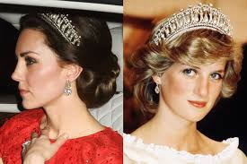 kate middleton wedding tiara kate middleton wears princess diana s tiara for the second time