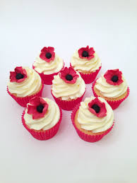 anzac remembrance day poppy cupcakes cakes u0026 sweets pinterest
