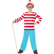boys wheres wally costume