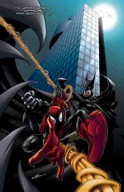 la mole batman spiderman sandoval art deviantart