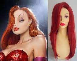 jessica rabbit jessica rabbit costume wig celebrity costume wigs simon says