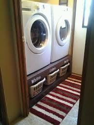 Cheap Washer Pedestal Love The Idea Of The Laundry Baskets Under The Washer And Dryer