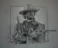 josey wales in aaron sowd u0027s drew struzan comic art gallery room