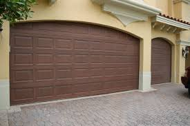 Olympia Overhead Doors by Faux Wood Painted Garage Doors