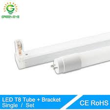 Single Fluorescent Light Fixture Greeneye 1set Single Led T8 Folding Fixtures Bracket 10w