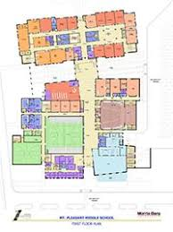 school floor plan pdf performance learning center replacement overview