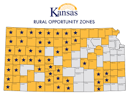 Kansas Counties Map Roz Program Expands To 23 Counties Republic County Kansas