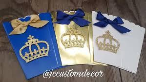 Prince Favors by Royal Prince Baby Shower Favor Box Royal Prince Favor