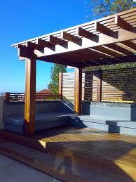 wohnideen minimalistischem pergola 43 best terraza images on