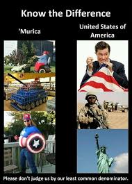 Merica Meme - funny murica pictures the difference between murica and the united