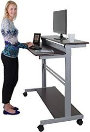 Ergonomics Computer Desk 32 Mobile Ergonomic Stand Up Desk Computer