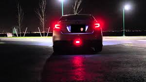 Red Led Light Bulb by 2015 Subaru Wrx Jdm Rear Fog Light W Red Led Bulb Youtube