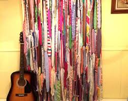 Multi Color Curtains Colorful Curtains Etsy