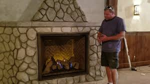 majestic marquis ii gas fireplace youtube