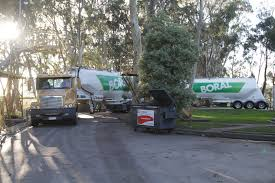 boral cement truck parked for the weekend at the former lyndhurst