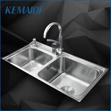 online buy wholesale kitchen double sinks from china kitchen