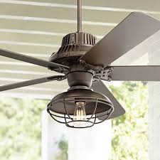 outside ceiling fans with lights 60 industrial forge franklin park outdoor ceiling fan 8y417
