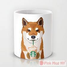 cute mugs for dog and starbucks lovers vanillapup