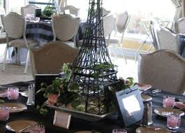 cordial eiffel tower centerpieces tall vase wedding centerpieces