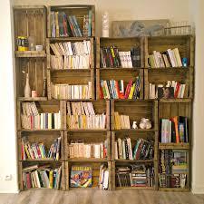 Recyclage Cagette Bois Décorer Son Salon Avec Des Caisses En Bois 20 Idées Pour Vous