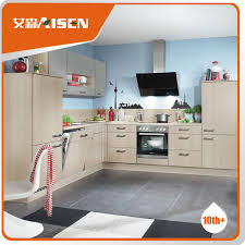 Professional Mould Design Wood Kitchen CabinetModern Kitchen - Kitchen cabinets made in china