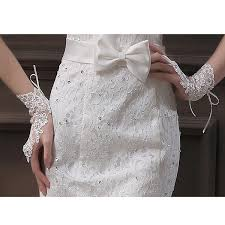 pearl lace fingerless pearl lace gloves wedding