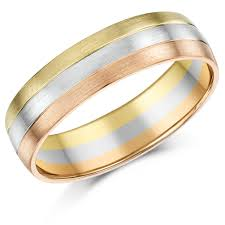 two color gold patterned rings two tone gold celtic wedding bands